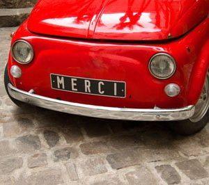 Fiat 500 1932 Canvas-taulu