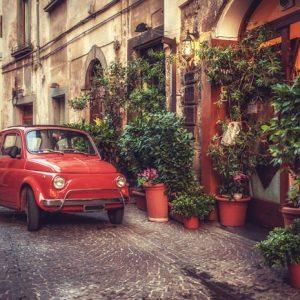 Fiat 500 975 Canvas-taulu