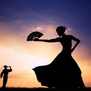 Flamenco 1072 Canvas-taulu
