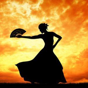 Flamenco 407 Canvas-taulu