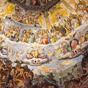 Florencen Katedraali Italia 1095 Canvas-taulu