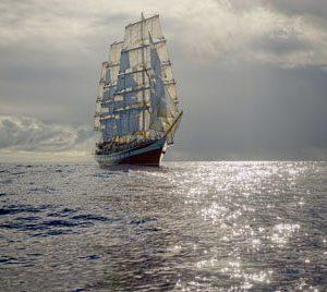 Fregatti Itämerellä 2101 Canvas-taulu