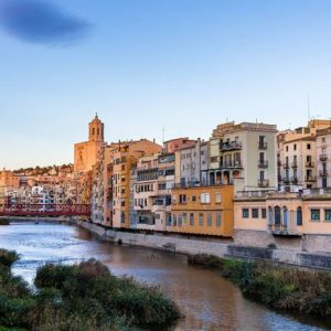 Girona Espanja 1005 Canvas-taulu