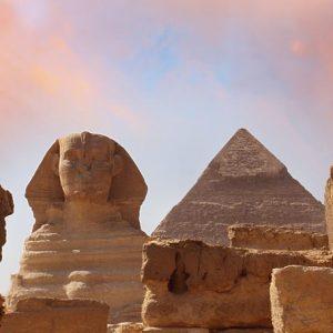 Gizan Pyramidi Ja Sfinksit 998 Canvas-taulu