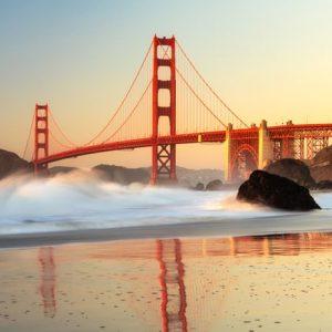 Golden Gate San Francisco 1048 Canvas-taulu