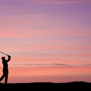 Golf Swing 227 Canvas-taulu
