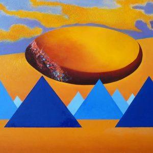 Pyramidihuijaus 50 x 70 cm Ilja West